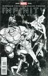 Infinity #1 Cover I Incentive Arthur Adams Hero Sketch Variant Cover