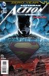Action Comics Vol 2 #25 Cover A Regular Aaron Kuder Cover (Batman Zero Year Tie-In)
