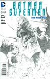 "Batman Superman #3 Cover E Incentive Jae Lee Sketch Cover  <font color=""#FF0000"" style=""font-weight:BOLD"">(CLEARANCE)</FONT>"