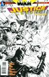 Justice League Vol 2 #23 Cover E Incentive Doug Mahnke Sketch Cover (Trinity War Part 6)