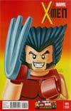 X-Men Vol 4 #5 Cover C Incentive Leonel Castellani Lego Color Variant Cover (Battle Of The Atom Part 3)