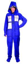 Doctor Who Tardis 1-Piece Pajama X-Large
