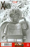 All-New X-Men #17 Cover D Incentive Leonel Castellani Lego Sketch Variant Cover (Battle Of The Atom Part 6)