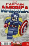 Captain America Vol 7 #12 Cover B Incentive Leonel Castellani Lego Color Variant Cover