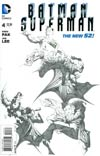 "Batman Superman #4 Cover E Incentive Jae Lee Sketch Cover  <font color=""#FF0000"" style=""font-weight:BOLD"">(CLEARANCE)</FONT>"