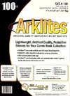 Bill Cole ARKLITES Current Age Size 1-mm Mylar Bags 100-Count