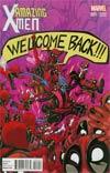 Amazing X-Men Vol 2 #1 Cover D Variant Deadpool Cover