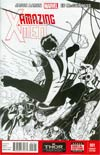 Amazing X-Men Vol 2 #1 Cover G Incentive Ed McGuinness Sketch Cover