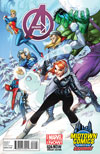 Avengers Vol 5 #24.NOW Cover E Midtown Exclusive J Scott Campbell Variant Cover