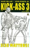 Kick-Ass 3 #5 Cover C Incentive John Romita Jr Sketch Cover