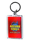 Midtown Comics Acrylic Keychain