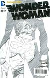 Wonder Woman Vol 4 #26 Cover B Incentive Cliff Chiang Sketch Cover