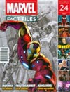 "Marvel Fact Files #24 Avengers Iron Man Cover  <font color=""#FF0000"" style=""font-weight:BOLD"">(CLEARANCE)</FONT>"