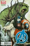 Avengers Vol 5 #24.NOW Cover I Variant Marvel Animal Cover