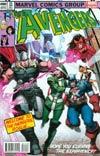 Avengers Vol 5 #24.NOW Cover N Variant Avengers Covers X-Men By Walter Simonson Cover