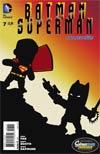 Batman Superman #7 Cover D Incentive Scribblenauts Unmasked Variant Cover
