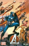 Avengers World #1 Cover G Incentive Arthur Adams Wraparound Color Variant Cover