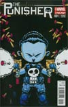 Punisher Vol 9 #1 Cover C Variant Skottie Young Baby Cover