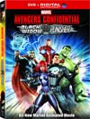 Avengers Confidential Black Widow & Punisher Combo DVD
