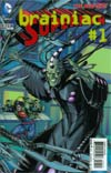 Superman Vol 4 #23.2 Brainiac Cover C 2nd Ptg 3D Motion Cover