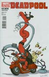 Deadpool Vol 4 #25.NOW Cover B Variant Katie Cook Animal Cover