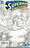 Superman Unchained #6 Cover M Incentive Jim Lee Sketch Cover