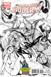 Amazing Spider-Man Vol 3 #1.1 Cover C Midtown Exclusive J Scott Campbell Connecting Sketch Variant Cover (3 of 3)