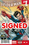 Amazing Spider-Man Vol 3 #1 Cover P DF Signed By Dan Slott