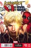 Longshot Saves The Marvel Universe #1 Cover B Variant Deadpool Cover