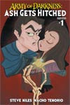 Army Of Darkness Ash Gets Hitched #1 Cover F Variant Stephanie Buscema Subscription Cover