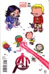 Avengers AI #1 Cover B Variant Skottie Young Cover (Age Of Ultron Tie-In)