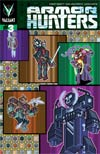 Armor Hunters #3 Cover B Variant Donovan Santiago ValiantCraft Cover