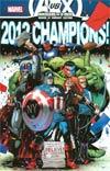 Avengers vs X-Men #12 Cover H Avengers 2012 NYCC Exclusive Ryan Stegman Variant Cover
