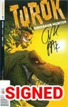 Turok Dinosaur Hunter Vol 2 #3 Cover F Incentive Ken Haeser Lil Turok Variant Cover Signed By Greg Pak