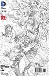 Superman Unchained #7 Cover F Incentive Jim Lee Sketch Cover