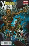 Amazing X-Men Vol 2 #9 Cover B Incentive Guardians Of The Galaxy Variant Cover