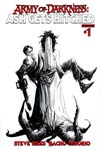 Army Of Darkness Ash Gets Hitched #1 Cover H Incentive Jae Lee Black & White Line Art Cover