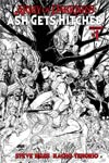 Army Of Darkness Ash Gets Hitched #1 Cover I Incentive Nick Bradshaw Black & White Line Art Cover