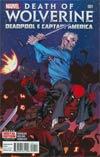Death Of Wolverine Deadpool & Captain America #1 Cover A 1st Ptg Regular Ed McGuinness Cover