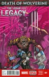 Death Of Wolverine Logan Legacy #1 Cover A Regular Oliver Nome Cover
