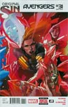 Avengers Vol 5 #31 Cover B 2nd Ptg Leinil Francis Yu Variant Cover (Original Sin Tie-In)