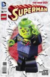 Superman Vol 4 #36 Cover B Variant DC Lego Cover