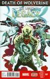 Death Of Wolverine Logan Legacy #7 Cover A Regular Rafael Albuquerque Cover