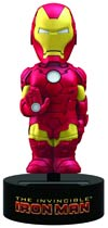 Marvel Comics Iron Man Solar Powered Body Knocker