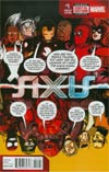 Avengers & X-Men AXIS #1 Cover D Variant Deadpool Party Cover