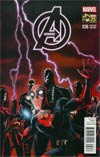 Avengers Vol 5 #36 Cover D Incentive Deadpool 75th Anniversary Photobomb Variant Cover (Time Runs Out Tie-In)