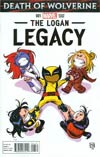 Death Of Wolverine Logan Legacy #1 Cover B Variant Skottie Young Baby Cover