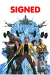 Star Wars Vol 4 #1 Cover W DF Signed By John Cassaday Bonus Pack