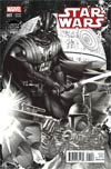 Star Wars Vol 4 #1 Cover E Limited Edition Comix Exclusive Mike Deodato Black & White Variant Cover