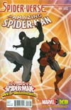 Amazing Spider-Man Vol 3 #11 Cover B Incentive Jeff Wamester Spider-Verse Variant Cover (Spider-Verse Tie-In)